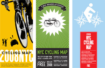 Candy Chang » nyc bike map cover