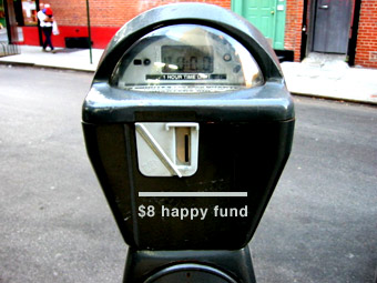 Candy Chang » NYC Parking Meter happy fund