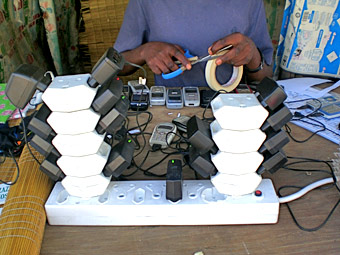 shembe durban south africa cell phone mobile phone charging station